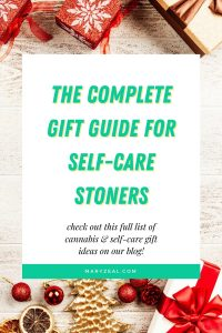 complete gift guide for self care stoners cannabis holiday boxes