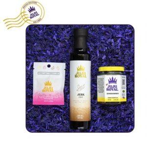 juju royal cbd infused honey oil gift set